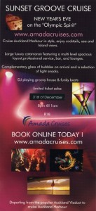 New Years Sunset Groove Cruise 2014