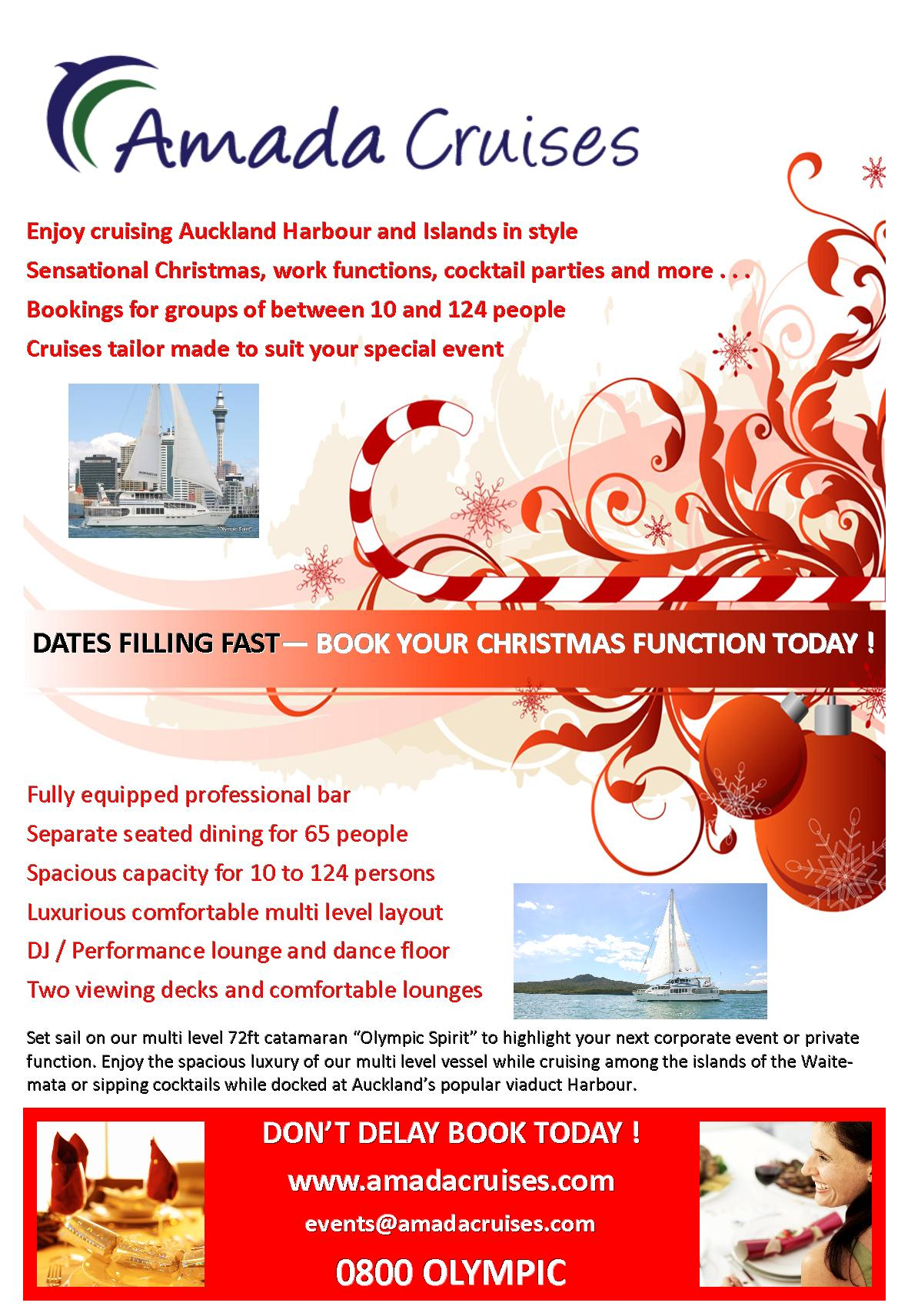 Christmas function venue hire